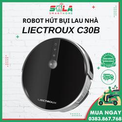 lIECTROUX C30B - ROBOT HÚT BỤI LAU NHÀ HOT NHẤT NĂM 2021