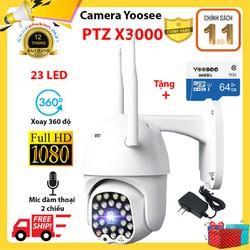 Camera ngoài trời yoosee-Camera ip wifi Yoosee PTZ X3000