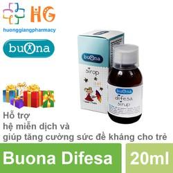 Buona Difesa - Hỗ trợ hệ miễn dịch và tăng sức đề kháng, giảm nguy cơ mắc bệnh đường hô hấp và tiêu hóa