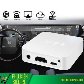 Thiết Bị HDMI Không Dây Kết Nối Điện Thoại Với Màn Hình Xe Ô Tô, TV, Máy Chiếu HD 1080P Mirascreen X7 - Mirascreen X7 thumbnail