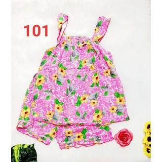 Bộ tôn 2 da chất lượng - quần đùi có túi - áo 2 dây - ẢNH THẬT - CHO XEM HÀNG - 066 thumbnail