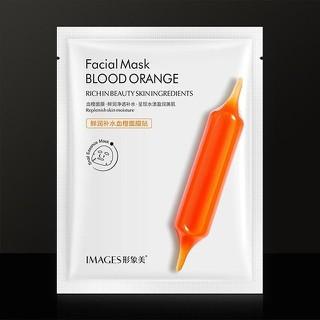 Mặt nạ chiết xuất cam đỏ images giúp làm mềm mịn hấp thu tinh chất từ các sản phẩm dưỡng da làm mịn da - 3837463921991 thumbnail
