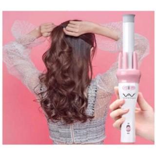 [BH 3 THÁNG] Máy uốn tóc xoăn xoay tự động 360 - Gậy uốn xoăn tóc, Máy uốn tóc đa năng, Máy xoăn giả, Máy xoăn sóng cao cấp - may lam xoan thumbnail