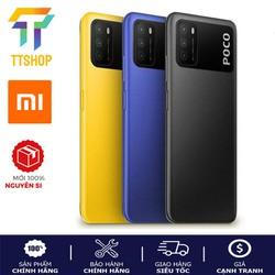 Điện thoại Xiaomi POCO M3 4GB/64GB - Hàng Chính Hãng nguyên seal - Xiaomi POCO M3 4GB/64GB