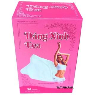 Viên Uống Giảm Cân Dáng Xinh EVa- Với thành phần collagen, cao lá sen, ca trà xanh giúp Giảm cân, giảm mỡ thừa nhanh chóng- collagen hỗ trợ đẹp da, làm mờ nám, tàn nhang- hộp 20 viên - Dáng Xinh EVa - Dáng Xinh EVa thumbnail