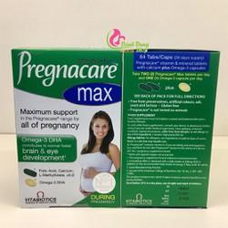 Vitamin tổng hợp cho bà bầu Pregnacare Max UK date 2020