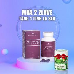Zlove giúp se khít làm hồng vùng kín, cải thiện sức khỏe sau sinh cho phụ nữ (COMBO 2 HỘP)