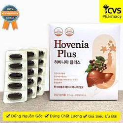 Hovenia Plus (Hộp 30 Viên) - Hỗ trợ tăng cường chức năng gan, giải độc và bảo vệ gan, thanh nhiệt, mát gan, giải rượu - cvspharmacy