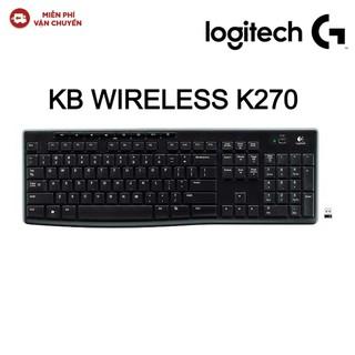Bàn phím không dây Logitech K270 - Hàng chính hãng new 100% - K270 thumbnail