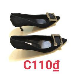 Giày cao gót nữ MISS BENEY kiểu dáng hiện đai dễ phối đồ, ĐI LÀM, ĐI CHƠI, GÓT CÔNG SỞ, THỜI TRANG CÔNG SỞ C110