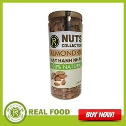 Hũ hạt Hạnh nhân Úc  - Real Food - Sản phẩm được nhập khẩu từ Úc cung cấp dồi dào vitamin E, calcium, phosphor, sắt và magnesium và nhiều dưỡng chất khác