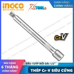 """Đầu tuýp nối dài 1/2"""" cao cấp INGCO thép Cr-V siêu cứng chống rỉ sét đầu khẩu thanh mở bulong đai ốc vít sửa chữa [XTOOLs][XSAFE]"""