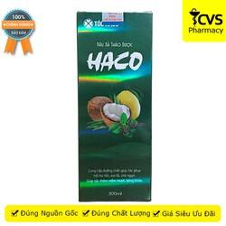 Dầu Xả Thảo Dược HACO – Dầu xả Haco giúp dưỡng ẩm da đầu và tóc, dưỡng tóc, làm giảm xơ rối, chẻ ngọn, gãy rụng tóc – cvspharmacy