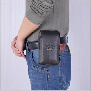 Bao da điện thoại đeo thắt lưng - Bao da đựng điện thoại cao cấp - BDM009 - BDM009 thumbnail