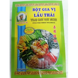 [25g] Bột gia vị lẩu Thái hiệu Đầu Bếp KIM HƯNG Thai Hot Pot Spices