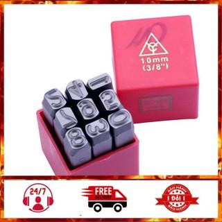 khắc số kim loại - Bộ Đột, Khắc Số Kim Loại 10mm YC-602 (Thép Tôi Luyện Siêu Cứng) - SP00407 thumbnail