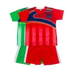 SIZE LỚN  Set 2 Bộ đồ vui chơi ngoài trời cho bé trai và bé gái, bộ đồ thể thao ngày hè dành cho bé trai, trang phục bóng đá dành cho trẻ em từ 34-40kg- 2 màu khác nhau