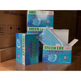 Khẩu Trang Y Tế Kháng Khuẩn GreenLife - 1 hộp 50 chiếc - KTYT 3