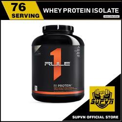 Rule 1 Protein 5Lbs 76 Lần dùng  - Sữa Whey Protein R1 Chính hãng giá tốt có tem cào