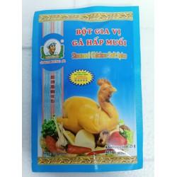 [25g] Bột gia vị gà hấp muối hiệu Đầu Bếp KIM HƯNG Steamed Chicken Salt Spices
