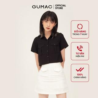 Chân váy nữ form A cơ bản túi giả GUMAC VB371 - VB371 thumbnail