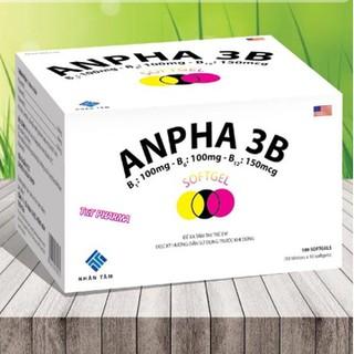 Viên Uống Bổ Sung Vitamin Anpha 3B- giúp bổ sung các axit amin thiết yếu. giảm đau trong đau dây thần kinh, - Vitamin Anpha 3B thumbnail