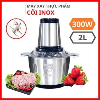Máy xay thịt cối inox 304 bằng điện 4 lưỡi công suất 300w dung tích 2 lít - Máy xay thịt cối inox2 lít thumbnail