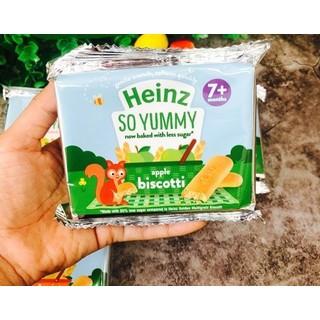 Bánh qui ăn dặm Heinz vị táo 7m 60g - 5000157067845 thumbnail