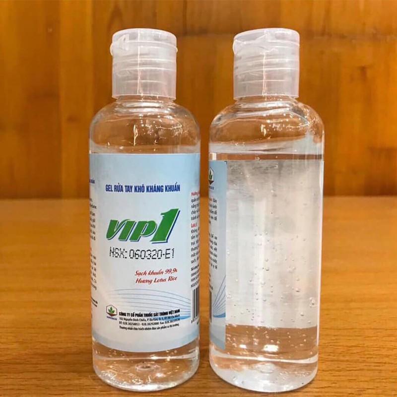 Gel Rửa Tay Khô Kháng Khuẩn VIP1 450ml - Tặng kèm Gel VIP1 100ml - GRT101 2