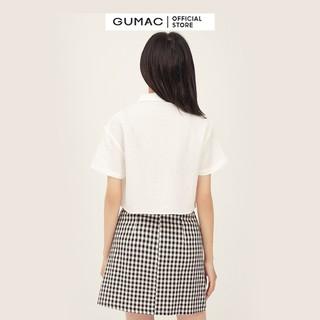 Chân váy nữ caro form A lưng liền GUMAC VB326 [ĐƯỢC KIỂM HÀNG] 41463617 - 41463617 thumbnail