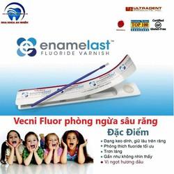 Gel bôi Vecni Flour đỏ ENAMELAST phòng ngừa sâu sún răng