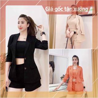 Bộ vest đùi 3 món thời trang - SL1003 thumbnail