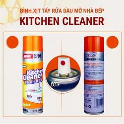 Chai Xịt Vệ Sinh Bọt Tuyết Nhà Bếp Kitchen Cleaner, Phòng Tắm Bathroom Cleaner