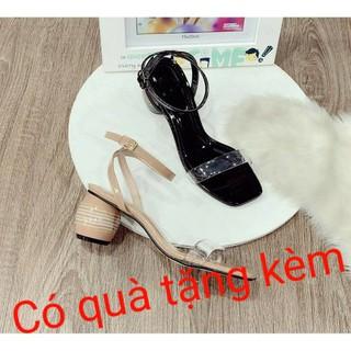 Giày sandal nữ đế hình trống thời trang - giaydetrong thumbnail