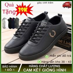 [ CHUYÊN SỈ ] giày thể thao sneakers nam màu đen bông lúa- hàng sẵn kho từ 38 – 43 TRÂM GIÀY