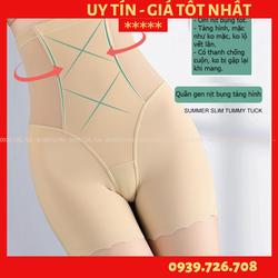 Quần gen nịt bụng tàng hình ko tạo vết lằn - Quần gen bụng đùi chống cuộn cao cấp bó bụng để mặc áo dài váy ôm đầm body
