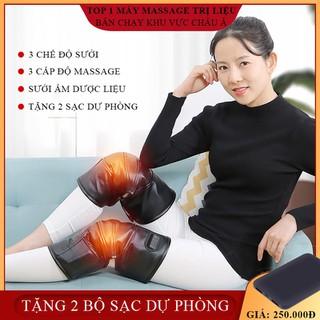Đệm đầu gối làm nóng massage đầu gối hồng ngoại vật lý tr-ị liệu nhiệt hỗ trợ đầu gối nẹp chân chấn thương khớp đau chăm sóc sức khỏe ( Bảo hành 2 năm lỗi 1 đổi 1 trong 7 ngày ) - MSDAUGOI thumbnail