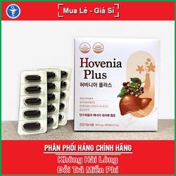 Hovenia Plus hộp 30 viên – Giúp giải độc gan, giải rượu, thanh lọc cơ thể, hỗ trợ chức năng gan