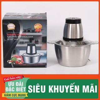 Máy Xay Thịt Cá Cối Inox 304 - máy xay thịt cối inox - MXC4LIO-1 thumbnail