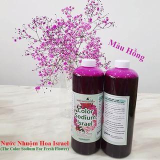 Nước Nhuộm Hoa Tươi Màu Hồng (Set 2 Chai) theo công nghệ Israel Color Sodium For Fresh Flowers giúp nhuộm đổi màu hoa cắt cành thành màu hồng đậm Pink - Nước Nhuộm Hoa Tươi Màu Hồng thumbnail