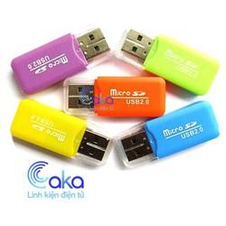 Đầu đọc thẻ nhớ Micro SD mini usb