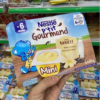 Váng Sữa Nestle Pháp Vị Vani 6m Lốc 6 hũ [ĐƯỢC KIỂM HÀNG] 41535333 - 41535333 thumbnail