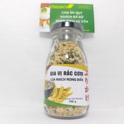 Gia Vị Rắc Cơm Lúa Mạch Rong Biển Chay 100g  Tâm Minh Thơm ngon rất dễ ăn  - Chayhome - Thực Phẩm Chay