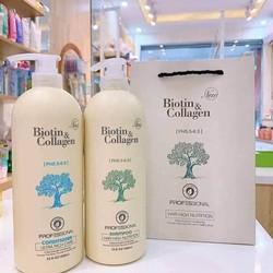 Dầu gội Collagen gạo lứt The Nature Book Collagen Brown Rice Shampoo 300ml