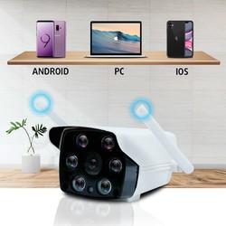 Camera WIFI Carecam 2.0MP Ngoài trời chống nước, Hỗ trợ Led quay đêm có màu, đàm thoại, hỗ trợ thẻ nhớ lên tới 128GB