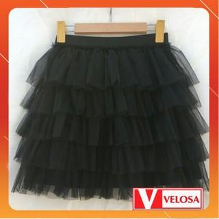chân váy ren nhiều tầng tùy chọn - 65478 thumbnail