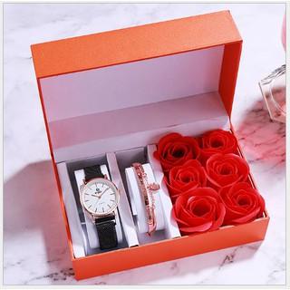 Đồng hồ Nữ và Vòng tay thời trang, sang trọng và đẹp - 015 thumbnail
