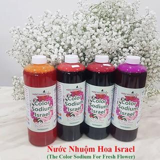 Dung Dịch Nhuộm Hoa Cắt Cành Đổi Màu (Combo 4 chai) theo Công Nghệ Israel giúp hoa nhuộm đổi màu theo ý muốn The Color Sodium for Fresh Flowers - Dung dịch nhuộm hoa cắt cành Combo 4 chai thumbnail