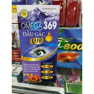 Viên uống bổ mắt O.MEGA 3.6.9 DẦU GẤC Q10 - Giúp sáng mắt , giảm khô mắt , nhức mỏi mắt , tăng cường thị lực cho mắt - hộp 60 viên - hàng công ty đạt chuẩn GMP -HD 2024 - Dầu gấc thumbnail