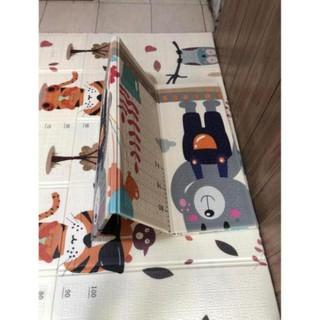 Thảm trải sàn xốp XPE 2 mặt phủ Silicone Hàn Quốc mẫu đẹp chống thấm tuyệt đối chống ngã cho bé tập bò kèm túi 1m8- 2m [ĐƯỢC KIỂM HÀNG] - SHOPBAN6254VN thumbnail